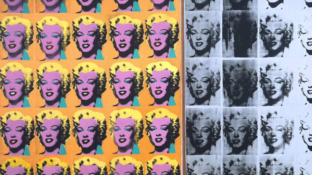 smarthistory marilyn diptych by andy warhol   youtube