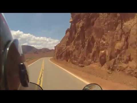 Ruta 68 en moto (de Cafayate a Salta) - Argentina