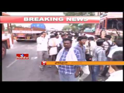 Yerpedu Accident | Lorry Owners Surrender Police Station | HMTV