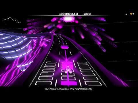 [Audiosurf] Rave Allstars Vs. Object One - Ping Pong '2006 (Club Mix)