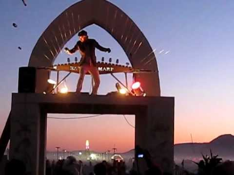 Burning Man 2011 - Gamelatron, Earth Harp, El Pulpo Mechanico, Charon, Temple etc.