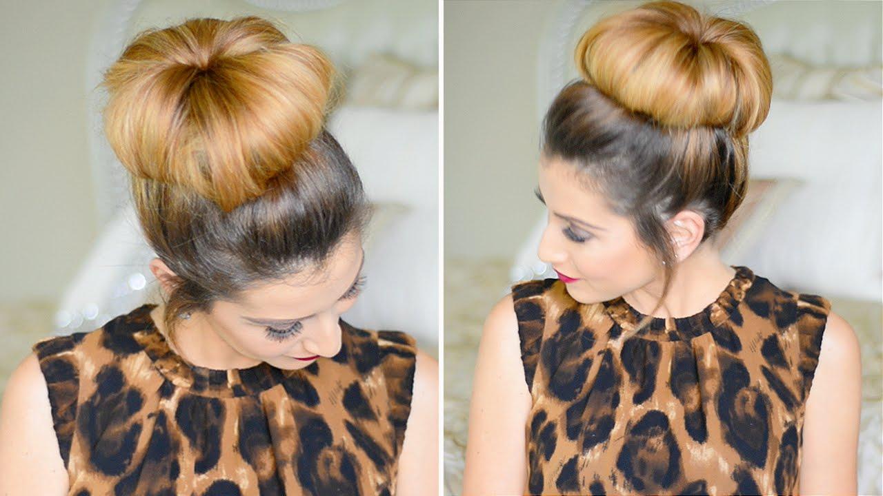 Fashion week How to do a hair high bun for woman