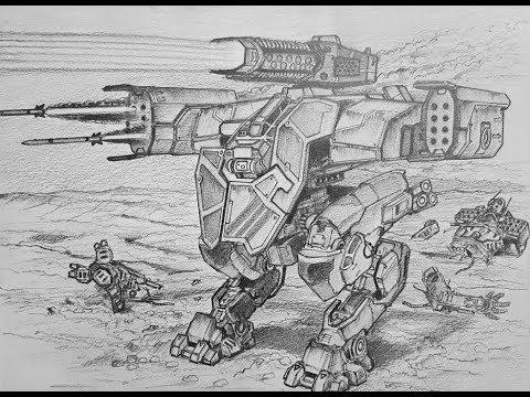Impresionante Dibujo De Lancelot War Robots Youtube
