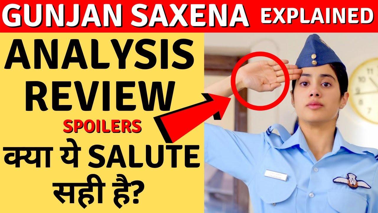 Gunjan Saxena Review Real Life Story Of Gunjan Saxena In Depth Analysis Gunjansaxena Review Youtube