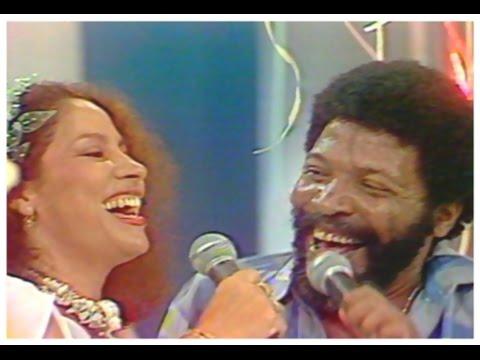 Clara Nunes no Fechamento do Globo de Ouro em 1980