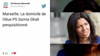 Marseille: Le domicile de l'élue PS Samia Ghali perquisitionné