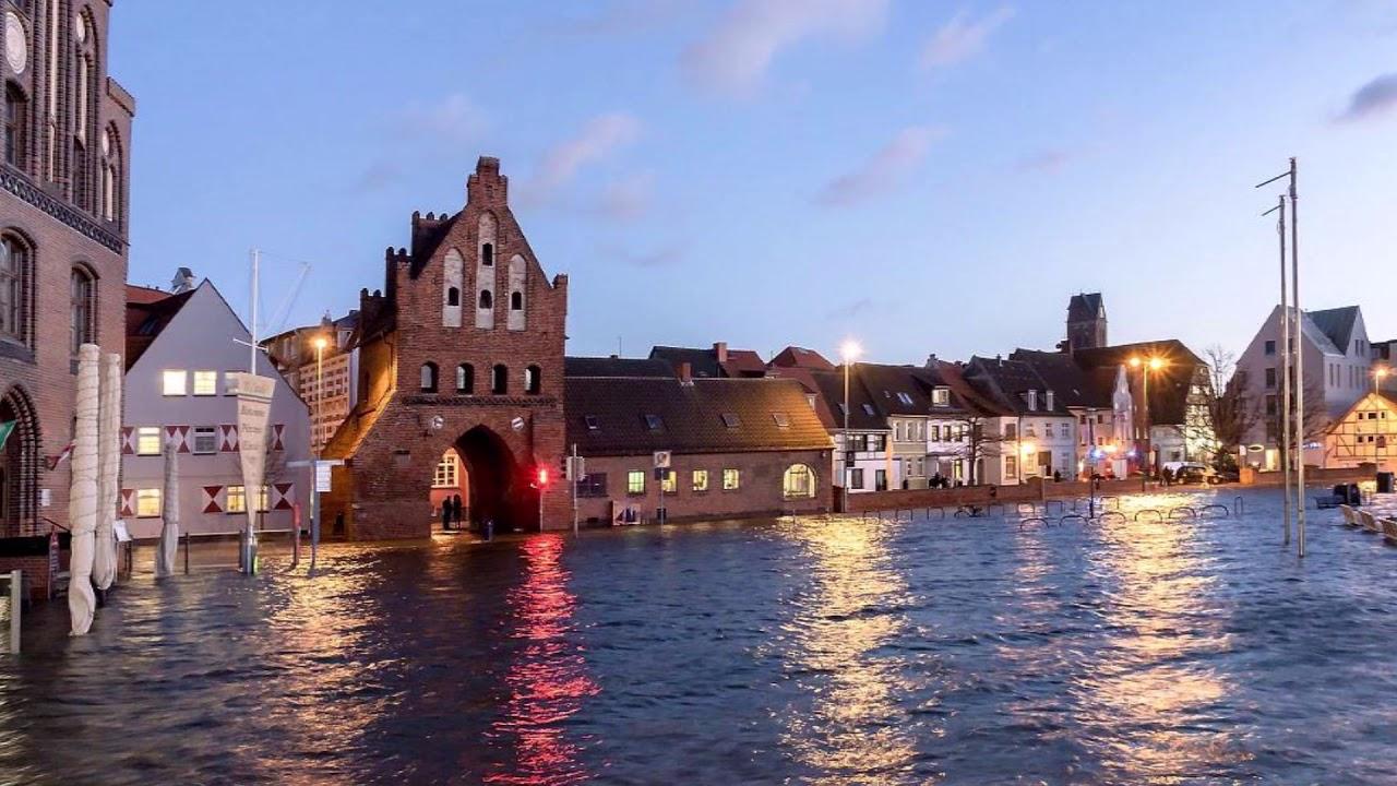 Wismar Sturmflut