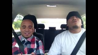 cholos on a way to a drive by