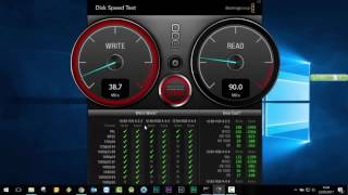 Blackmagic Disk Speed Test for Windows ( Download Link in description )