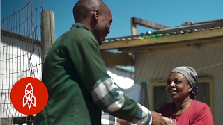 The South African Helping to Feed a Community