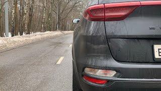 Kia Sportage black premium 2.4 - разгон 0 - 100