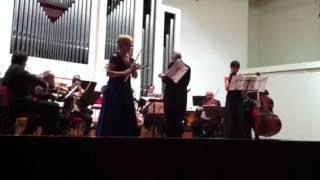 I Solisti Veneti concerto di Salieri per flauto oboe e orch (prima parte)