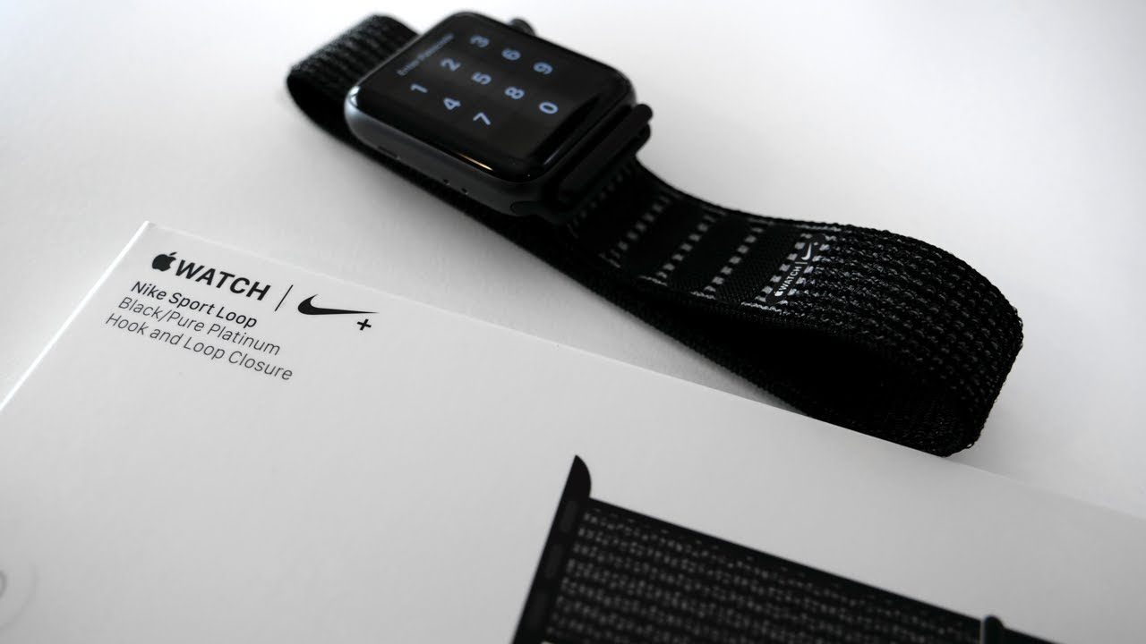 Apple Watch Nike Sport Loop