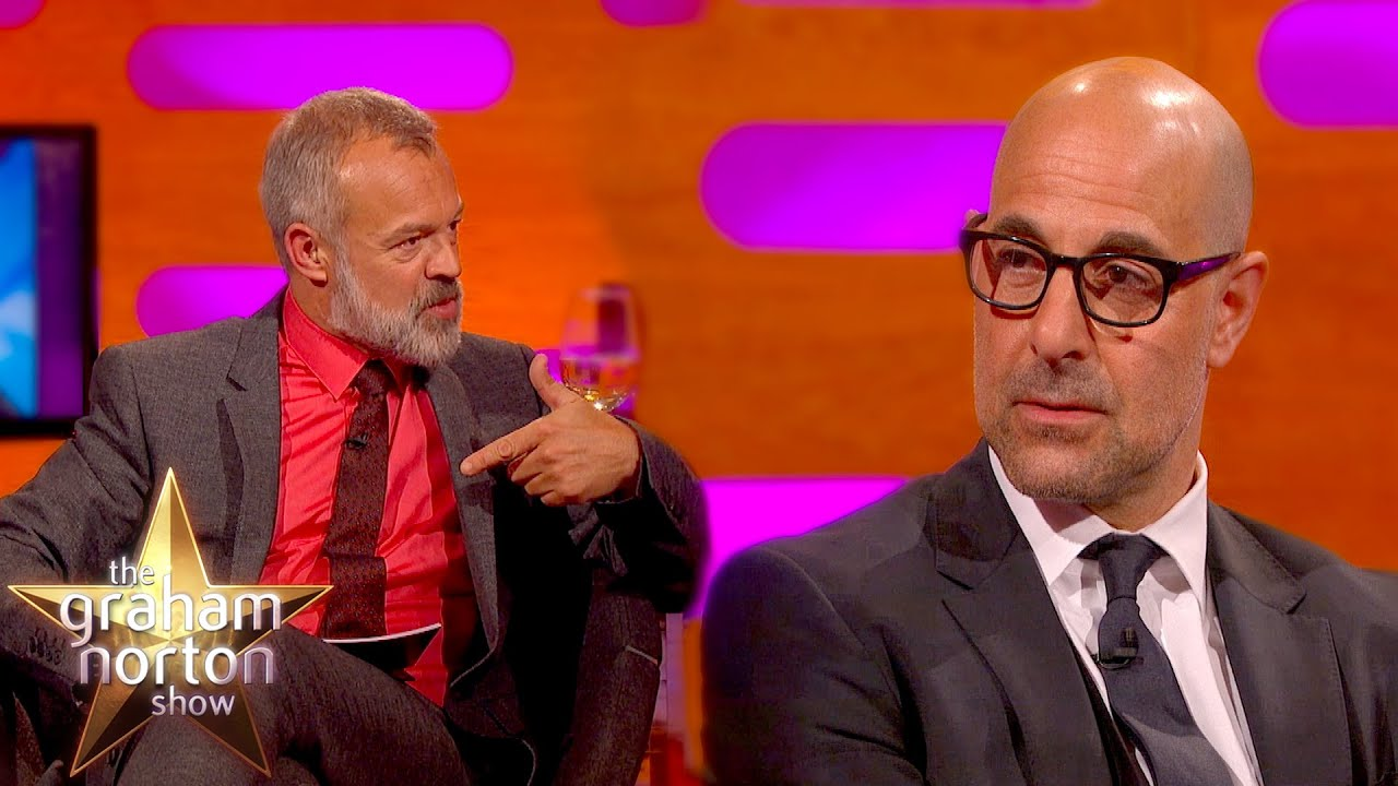 Stanley Tucci Reveals Inspiration For Hunger Games ... Stanley Tucci Hunger Games