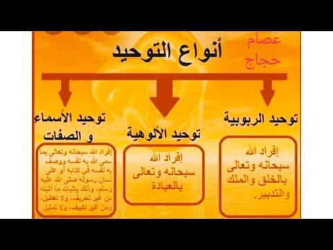أمور عقائدية مهمة لكل مسلم أن يعلمها ويتعلمها أنواع التوحيد وأنواع الشرك الشرك الاصغر والشرك الأكبر Youtube