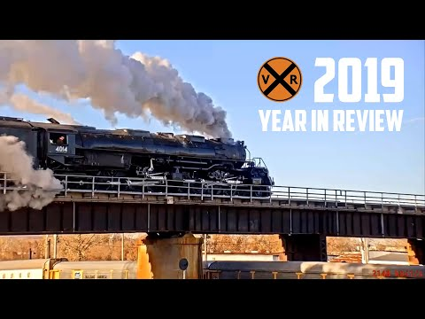 2019 Virtual Railfan Year In Review - Like A Box Of Chocolates, You Never Know What You'll Get!