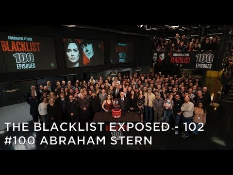 The Blacklist Exposed – S5E11 – #100 Abraham Stern