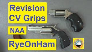 Revision CV Grips for NAA Mini Revolver
