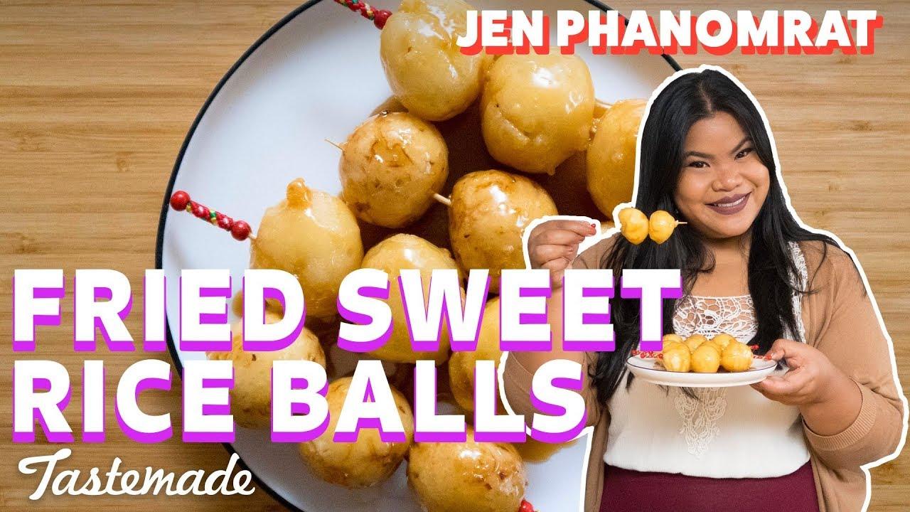 Filipino Carioca (Fried Sweet Rice Balls) I Good Times ...