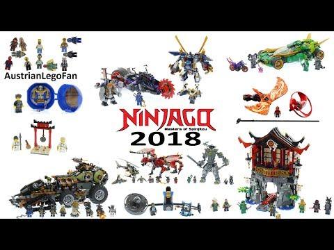 Lego Ninjago 2018 - Compilation of all Sets