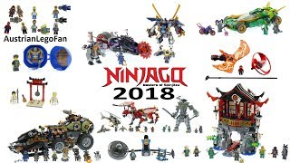 Lego Ninjago 2018 - Compilation of all Sets
