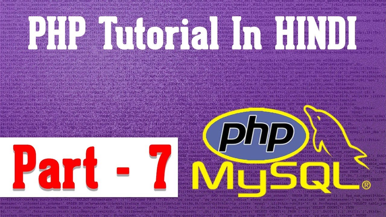 php tutorial series : part-7, php string function