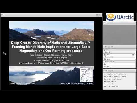 """""""Deep Crustal Diversity of Mafic and Ultramafic LIP Forming Mantle Melt  Implications for Large Scal"""
