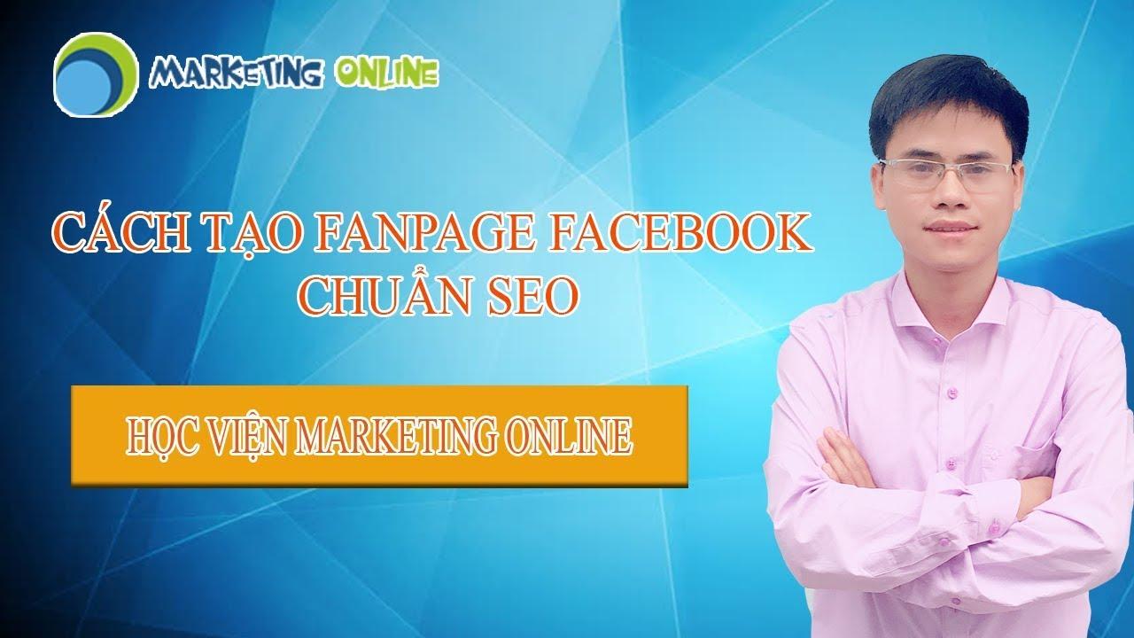 Cách tạo Fanpage Facebook chuẩn SEO