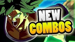 DBS BROLY HAS COMBOS!? | Dragonball FighterZ Gameplay Stream Analysis