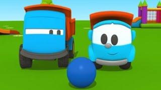 Leo der neugierige Lastwagen  - Leo sucht einen Freund - 3D Animation für Kinder