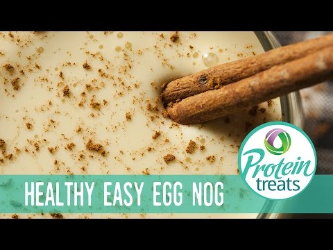 Protein Eggnog – Protein Treats by Nutracelle