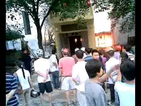 Tuấn Hưng ghi lại cảnh cháy nhà ở thị xã Sơn tây-HN