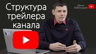 СТРУКТУРА ТРЕЙЛЕРА youtube канала