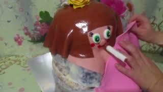 торт баба с сигаретой