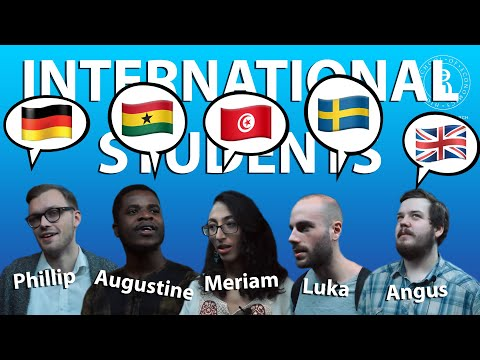 International students at HSE — St. Petersburg