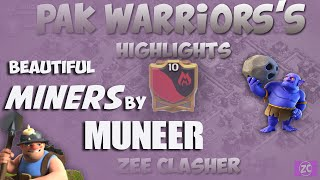 Clash Of Clans|Beautiful Max Miners Attack|3 Star Stratigy For Max TH 11