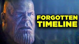 Avengers Endgame FORGOTTEN TIMELINE Explained! (Ego Worse Than Thanos?)