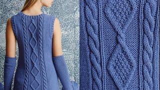 видео Йоко хатта вязание спицами