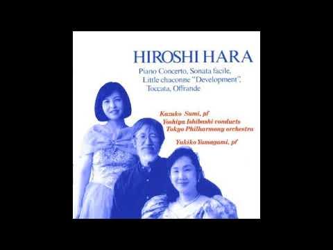 Hiroshi Hara【原博】  Concerto for Piano and Orchestra(1977)