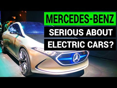 Mercedes-Benz EQ Concept & Electric Car Future at CES 2018