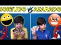 SORTUDO vs AZARADO: ALBUM DE FIGURINHAS DA COPA
