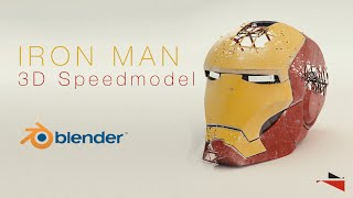 IRON MAN - 3D speedmodeling in blender