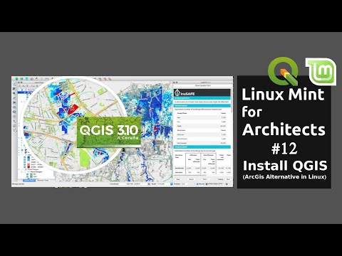 Linux Mint for Architects #12: Install QGIS + Inasafe (ArcGIS Alternative in Linux)