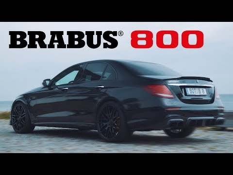 The BRABUS 800 E-Class Is A Monster!