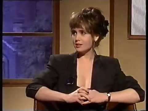 Lysette Anthony talks 'Playboy' with Jonathan Ross 1988