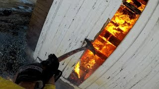 Repeat youtube video Rolling Hills barn fire