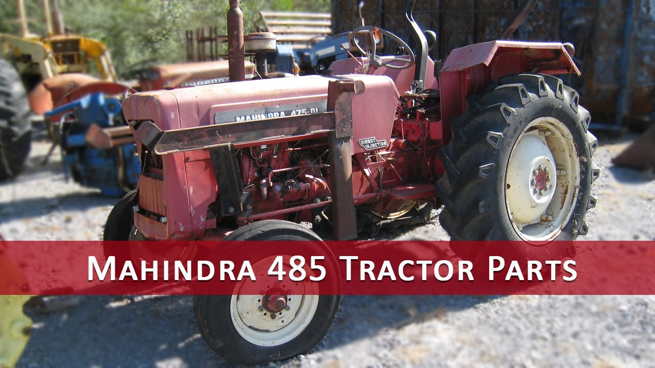 Used Mahindra 475 Tractor Parts on