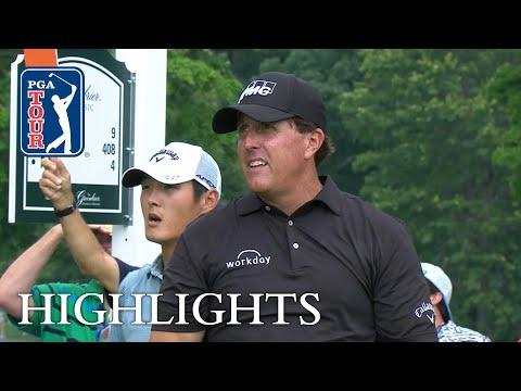 Phil Mickelson extended highlights | Round 1 | The Greenbrier