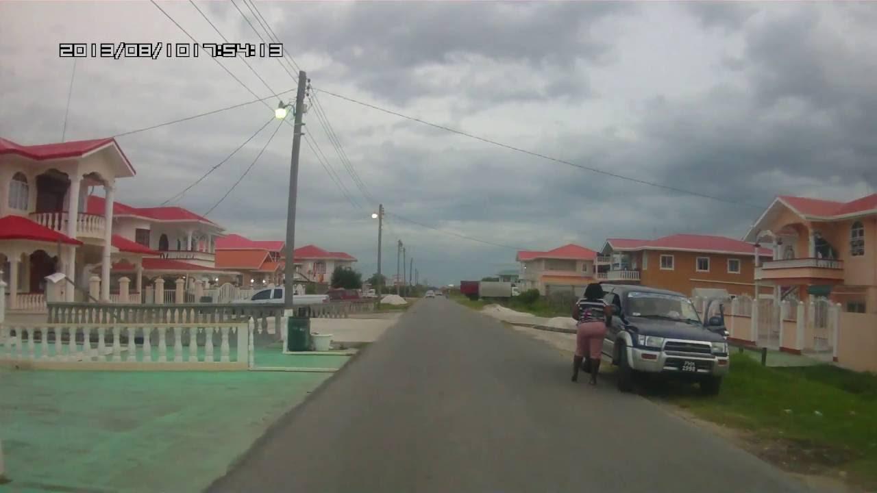 Guyana Tuschen Scheme East Bank Essequibo Near Parika