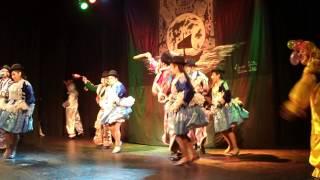 """""""Danza y música de la América morena 2015"""" Ballet América morena - Danza Chutas."""
